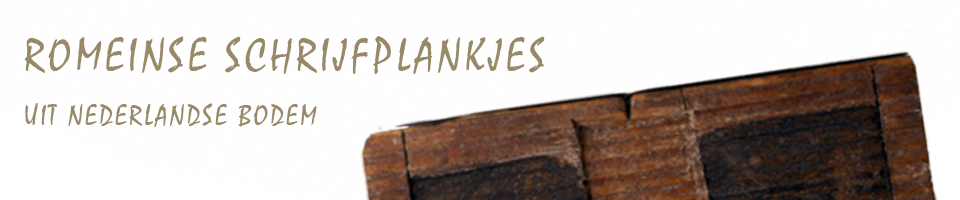 Romeinse Schrijfplankjes